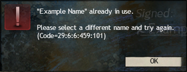 Common Error Codes – Guild Wars 2 Support